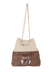 SNOOPY hem CAPACITY BAG M