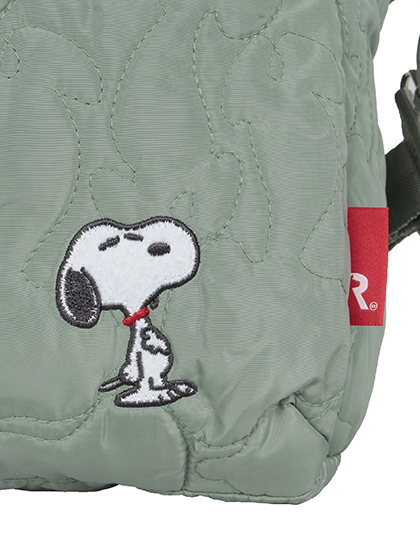 【SNOOPY】 グランデボックス バッグ 詳細画像 ブルー 6