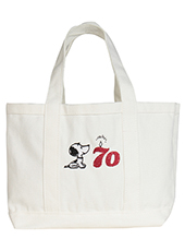 【SNOOPY】70th Candle Totebag バッグ
