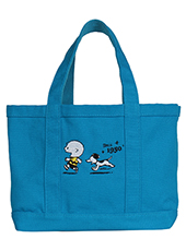 【SNOOPY】70th SN and CB running Totebag バッグ