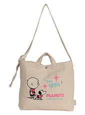 【SNOOPY】トール2way バッグ